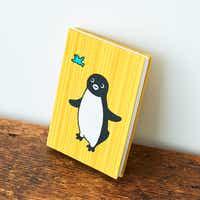 Suicaのペンギン 御朱印帳 青い鳥とペンギン