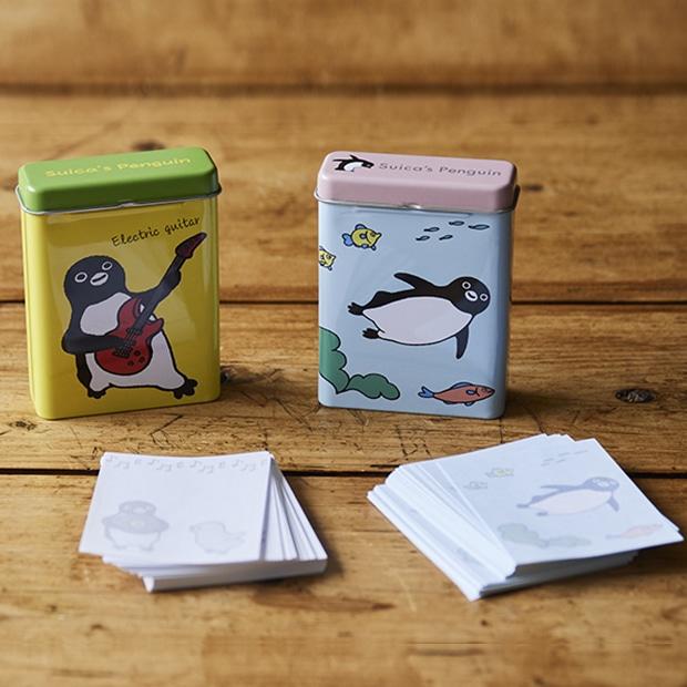Suicaのペンギン 缶メモ2個セット