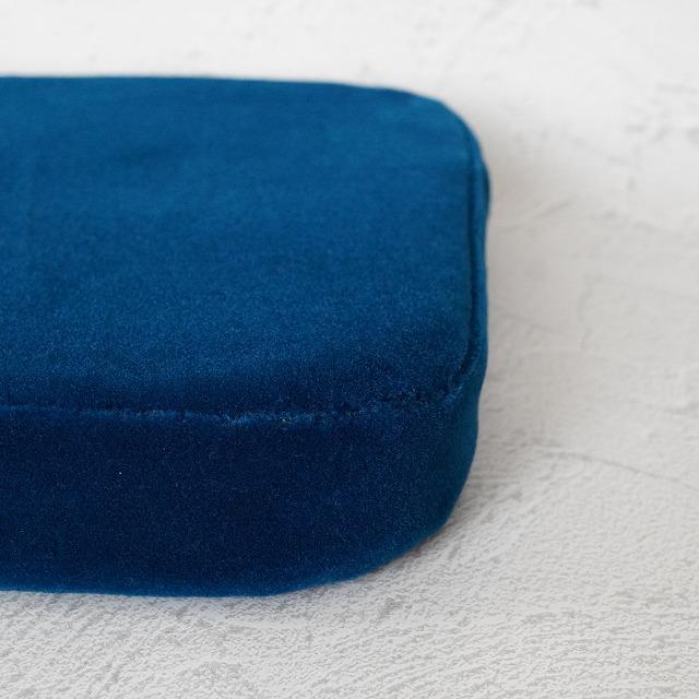 【COQTEZ】国鉄クッション 青モケット