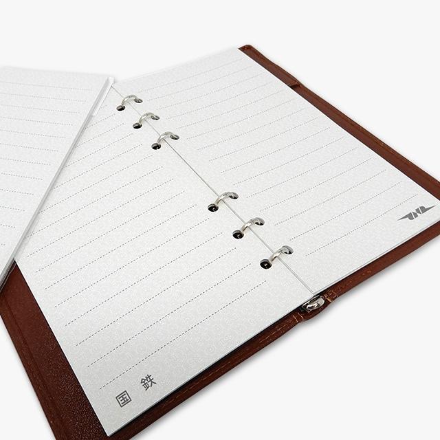国鉄地紋システム手帳追加リフィル バイブルサイズ