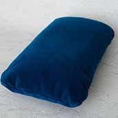 【COQTEZ】国鉄ミニクッション 青モケット