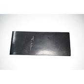 【ぬくもり刻印】補充券カバー0025(ブラックレザー2ミリ厚(個性あり) JNR刻印)限定品