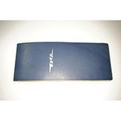 【ぬくもり刻印】補充券カバー0029(ブルーレザー2ミリ厚 JNR箔押し風)限定品