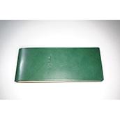 【ぬくもり刻印】補充券カバー0034(グリーンレザー3ミリ厚(個性あり) JNR刻印)限定品