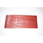 【ぬくもり刻印】補充券カバー0036(レッドブラウンレザー3ミリ厚(個性あり) JNR箔押し風)限定品