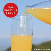 長野県下条村のりんご農家「カネシゲ農園」がつくる定番「りんごジュース 2本セット」(1L×2本セット)送料・税込