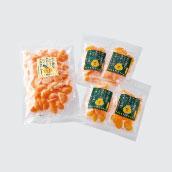 粒楽(冷凍みかん500g×1袋・冷凍しらぬい100g×4袋)セット