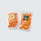 粒楽(冷凍みかん500g×1袋・冷凍しらぬい500g×1袋)セット