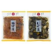 国産野菜&無添加 マルアイ食品 和の膳2種セット 各1袋(国産 福神漬・国産 しば漬)送料無料