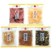 国産野菜&無添加 マルアイ食品 バラエティ漬物5種セット 送料無料