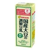 [1本86円/72本入]マルサンアイ 国産大豆の調製豆乳 200ml 特定保健用食品 トクホ 特保 送料無料