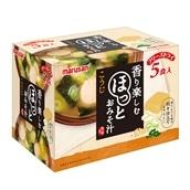 [計25食入/1食91円]マルサンアイ ほっとおみそ汁 5食入×5箱 送料無料