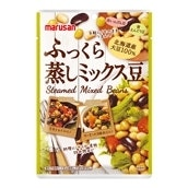 [20袋入/1袋144円]マルサンアイ ふっくら蒸しミックス豆80g 送料無料