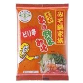 [24袋セット/1人前約72円]まつや ピリ辛とり野菜みそ 200g×24袋 送料無料 マルサン
