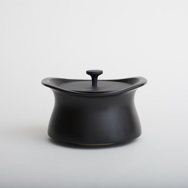 best pot 20cm ブラック 【直火対応】【送料無料】【IH非対応】