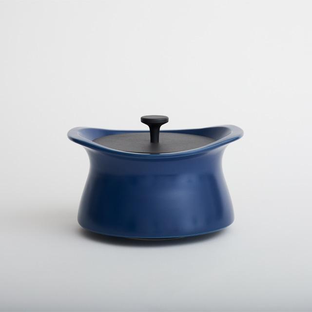 best pot 20cm インディゴブルー【直火対応】【送料無料】【IH非対応】