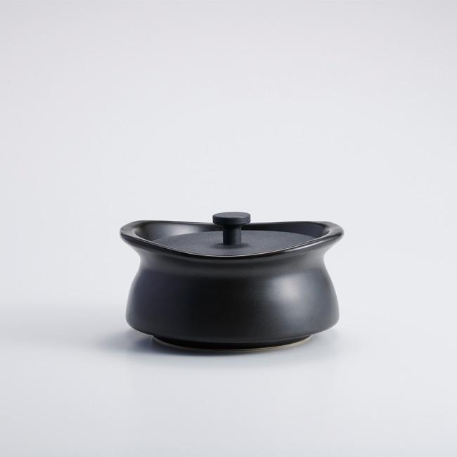 best pot mini shallow ブラック 【直火対応】【送料無料】【IH非対応】