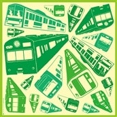 green train 〈OLD-FASHIONED STORE TOKYO〉