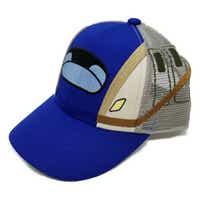 【送料無料】新幹線 帽子(メッシュキャップ) E7系かがやき 北陸新幹線 約53cm〜56cm 調節可能