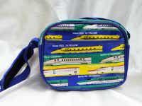 【送料無料】 新幹線ショルダーバッグ【幼稚園・通園バッグ】(E5はやぶさ・E6こまち・E7かがやき・ドクターイエロー・N700系柄)