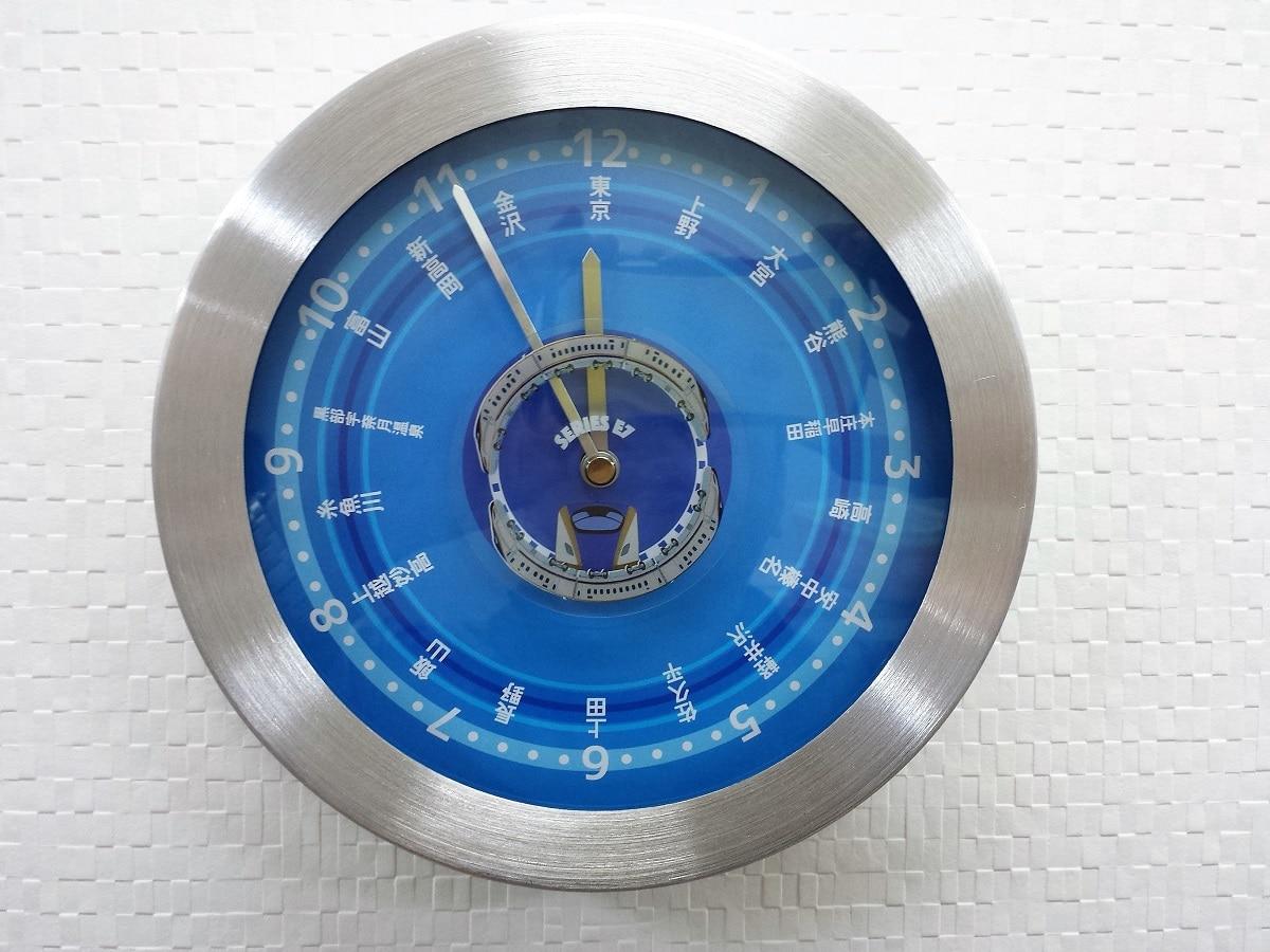 【送料無料】 E7系 新幹線 壁掛け(かべかけ)時計【2020冬ギフト】