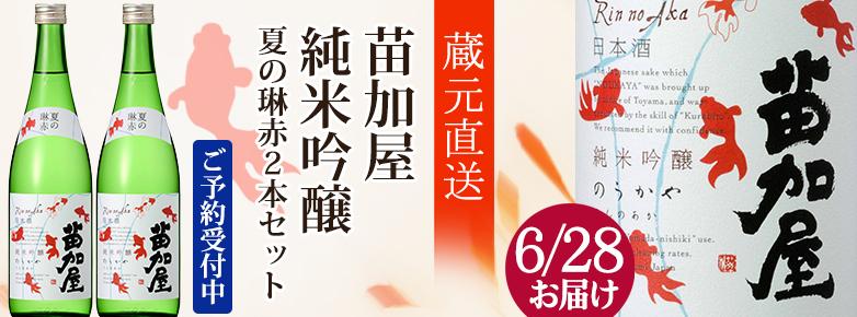 2019若鶴夏の琳赤2本(6/28届)