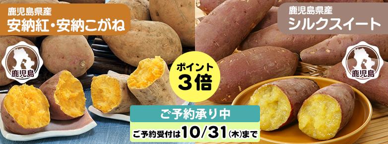 2019年10月チラシ(安納紅芋&安納こがね芋)
