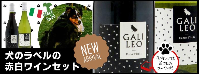 犬のラベルの赤白ワインセット(お酒とグルメMASUKI)